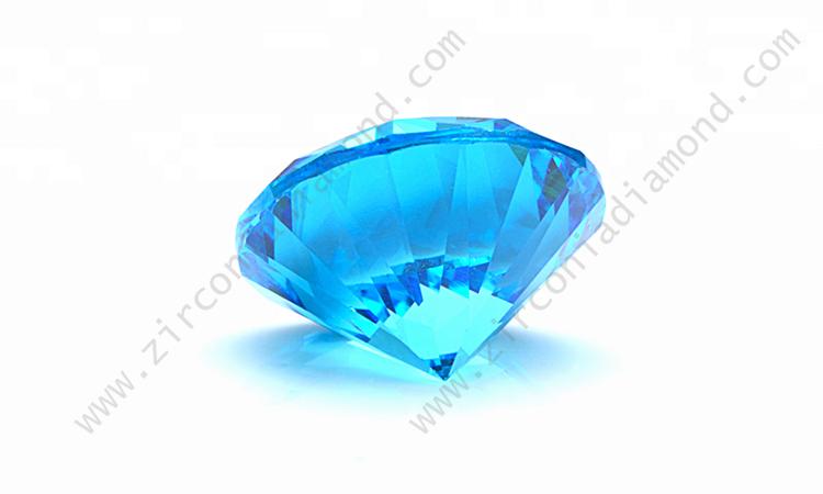 Aquamarine Cubic Zirconia