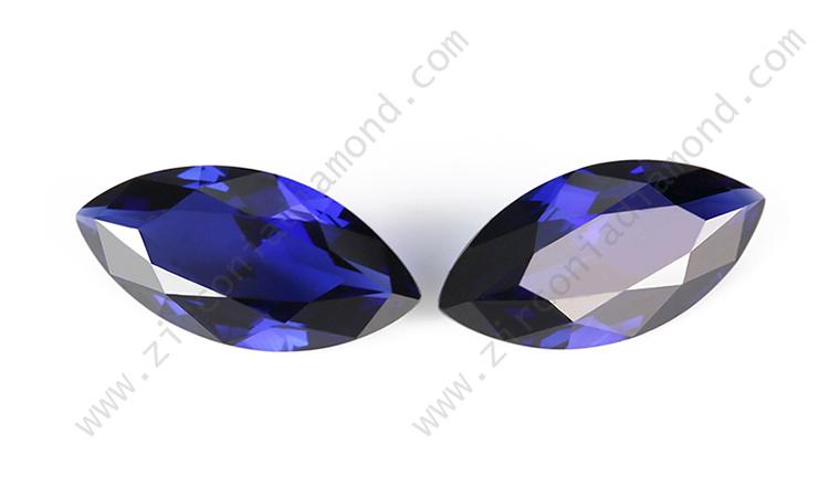 Blue Sapphire CZ