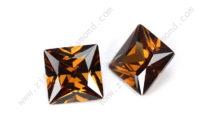 Brown Cubic Zirconia