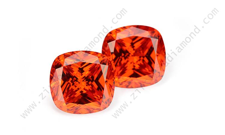 Orange Cubic Zirconia