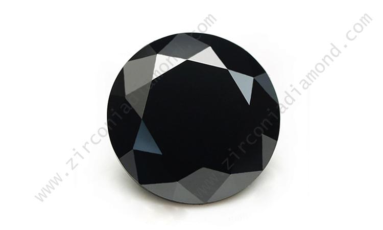 black cubic zirconia