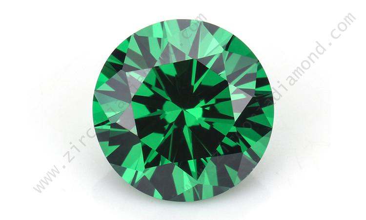 zirmond green cubic zirconia
