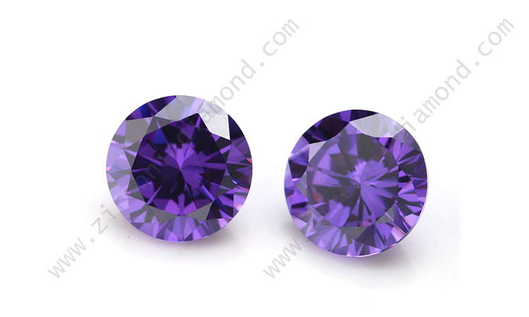 Violet Cubic Zirconia