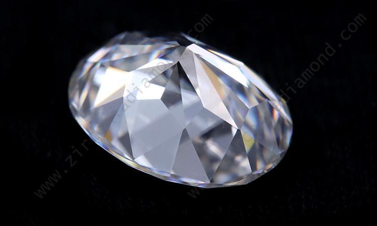 Zirmond heart cut moissanite
