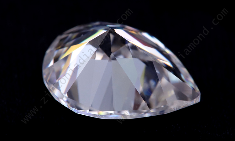 Zirmond radiant cut moissanite 1