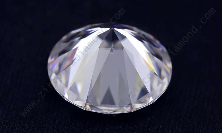 Zirmond round brilliant cut moissanite 1
