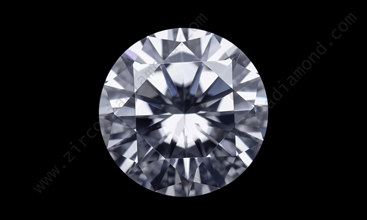 Zirmond round brilliant cut moissanite