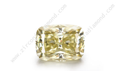 yellow moissanite