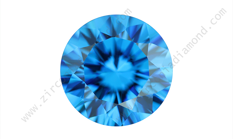 zirmond dark aquamarine cz