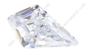 zirmond kite shape cubic zirconia
