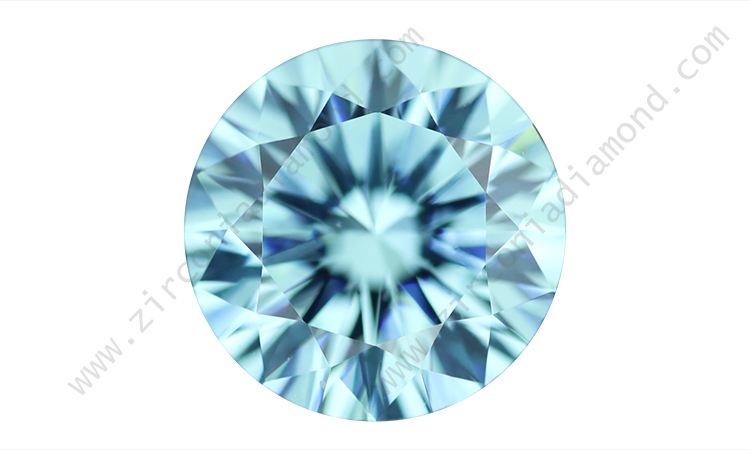 zirmond light aquamarine cz